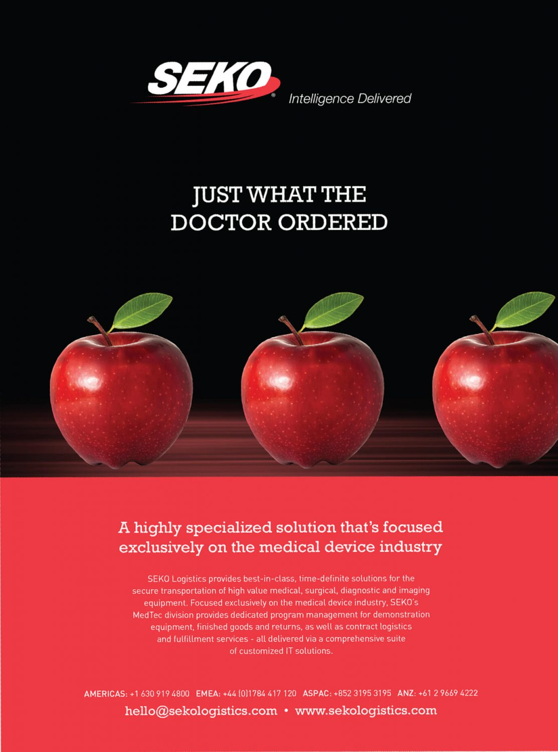 Seko Logistics - Apples