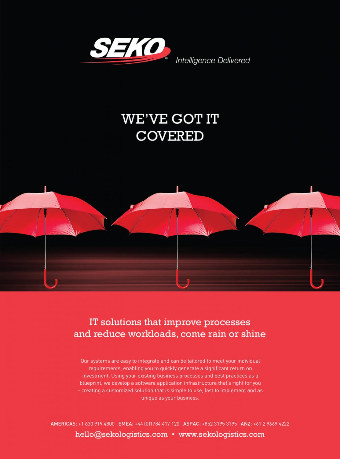 Seko Logistics - Umbrella