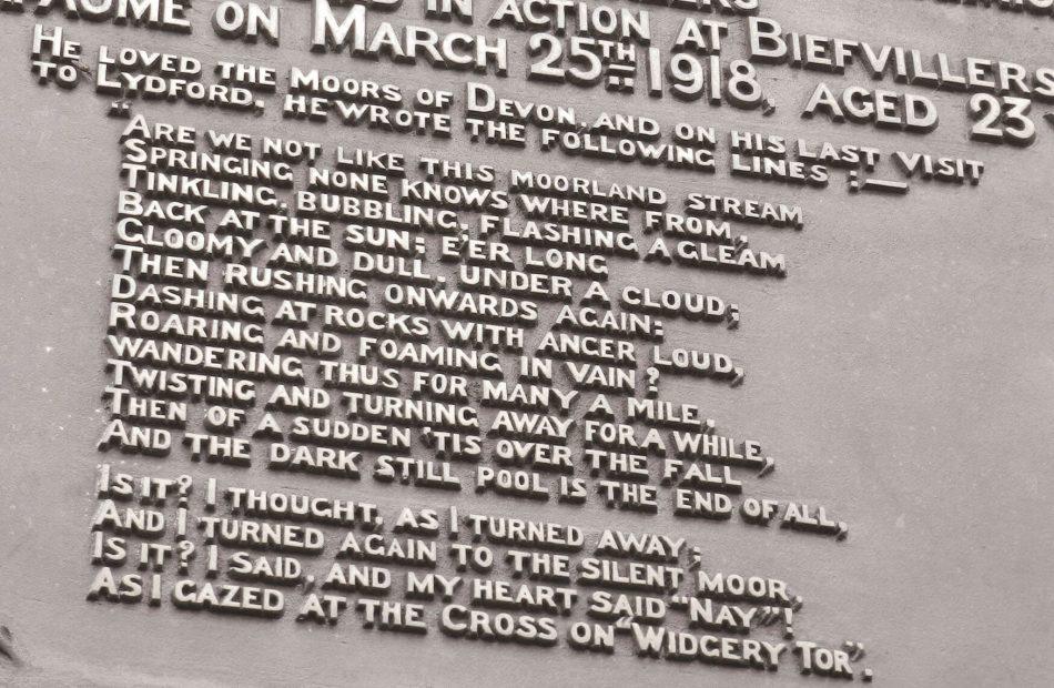 Devon memorial