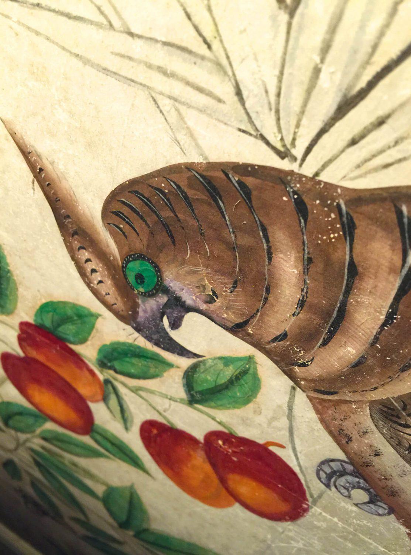 Painting of a bird Sam