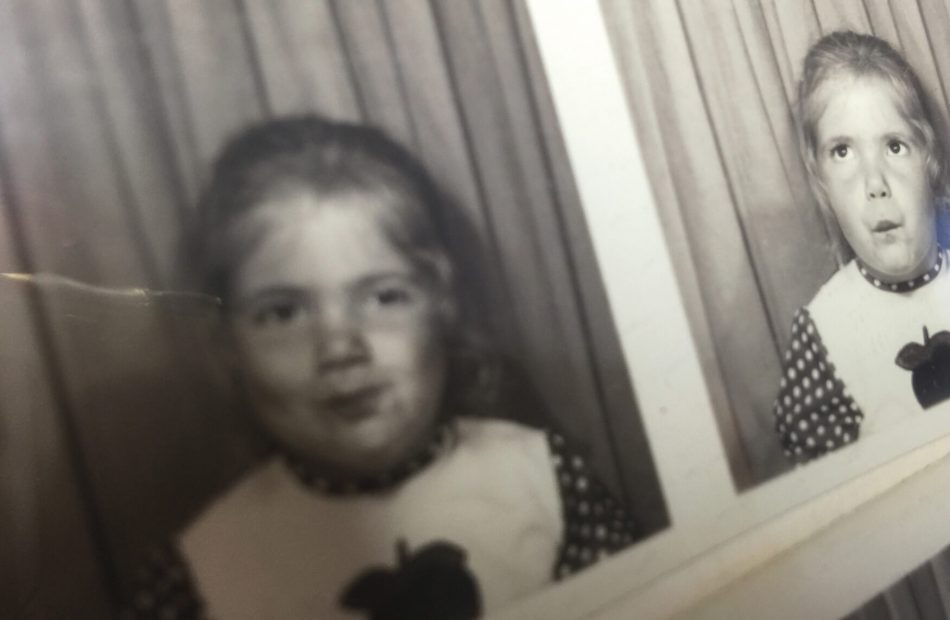 Sam as a child