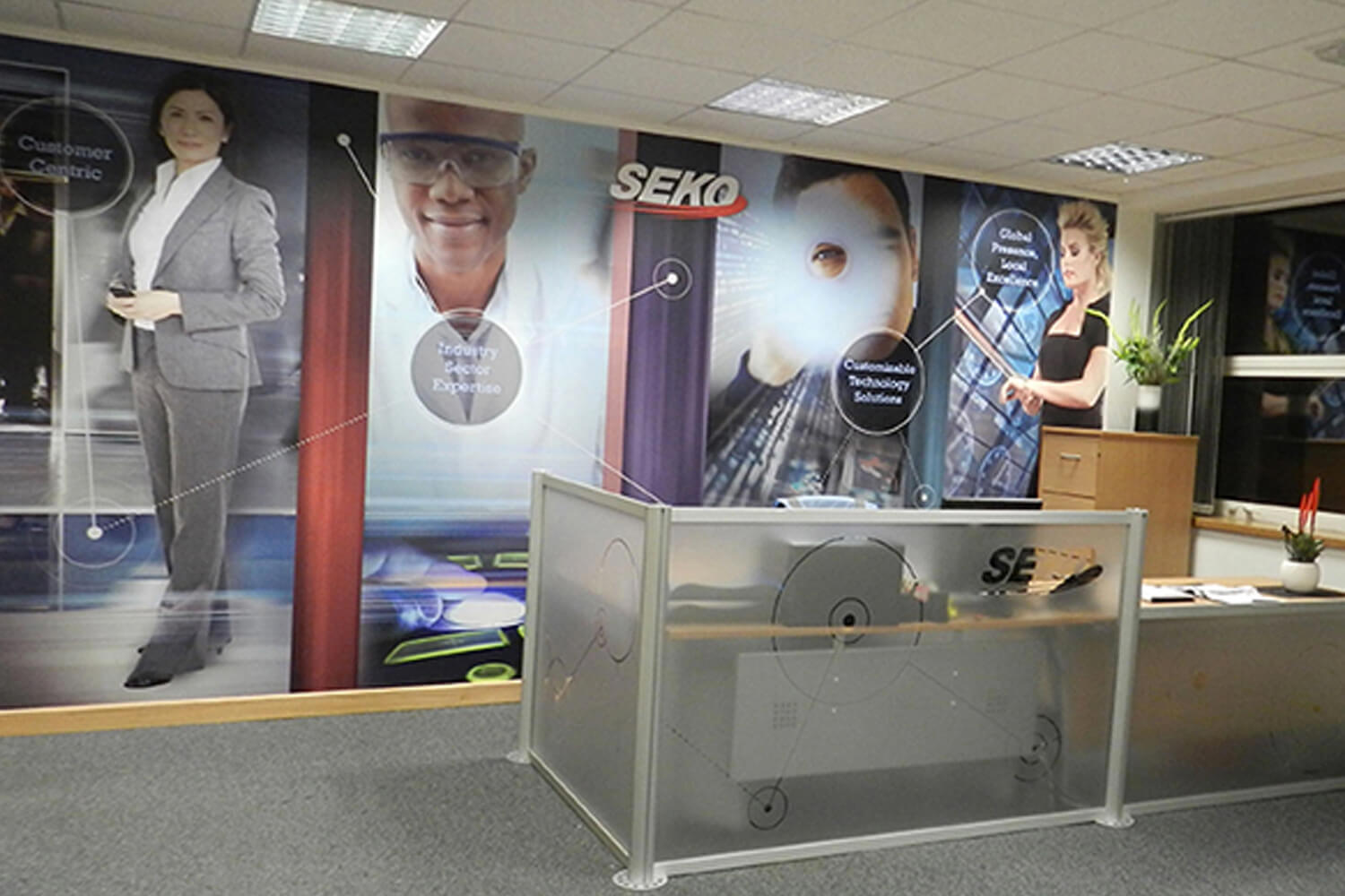 SEKO Office Branding
