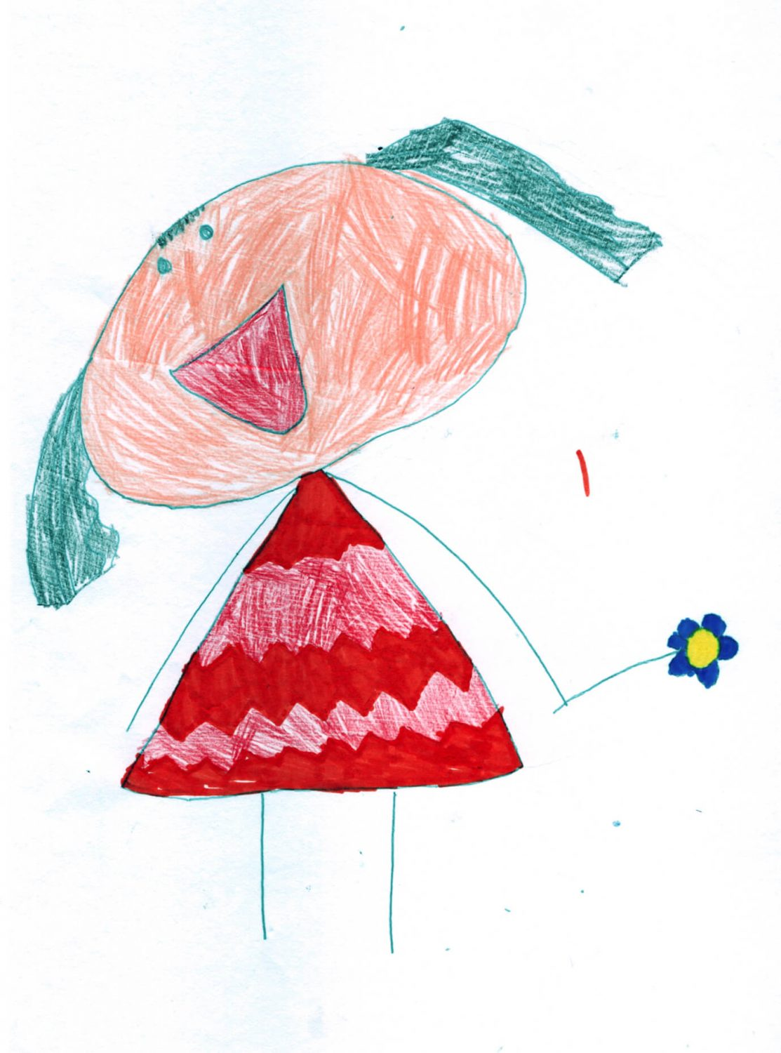 Anna's daughter's drawing