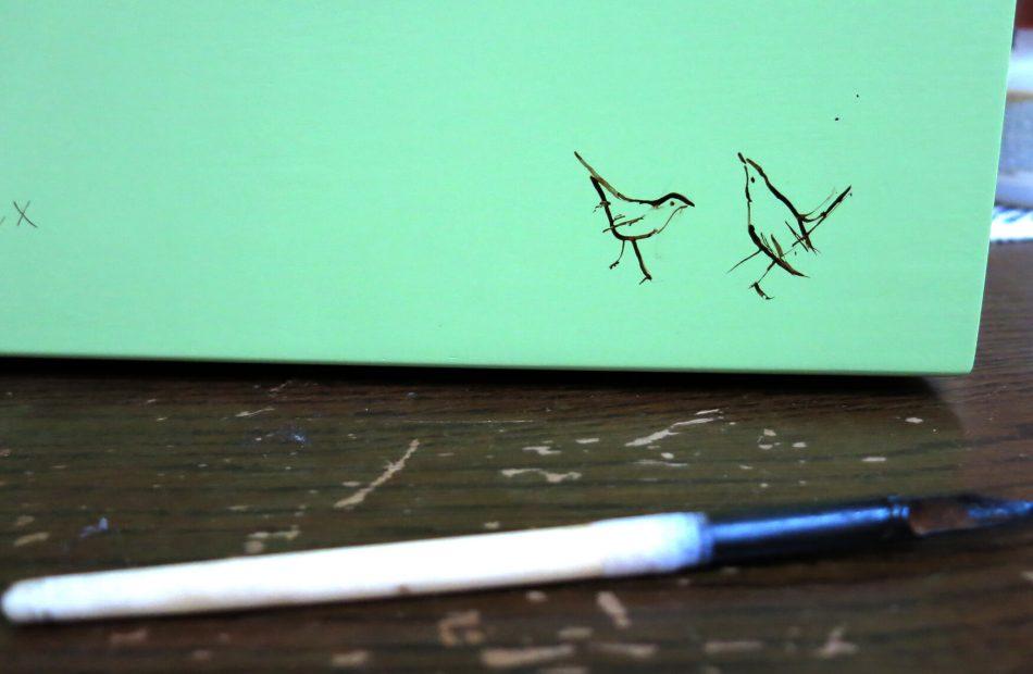 Anna's bird sketch
