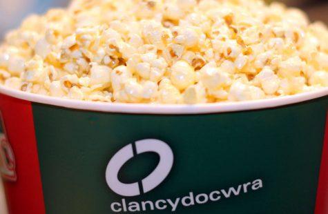Clancy Docwra popcorn