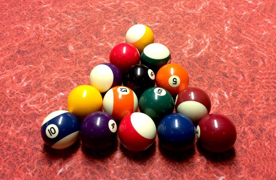 Gill's snooker balls
