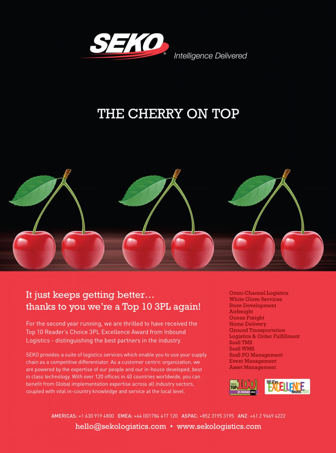 Seko Logistics - Cherries