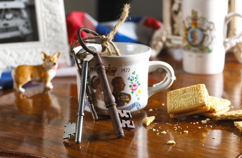 Windsor Great Park mug and biscuits