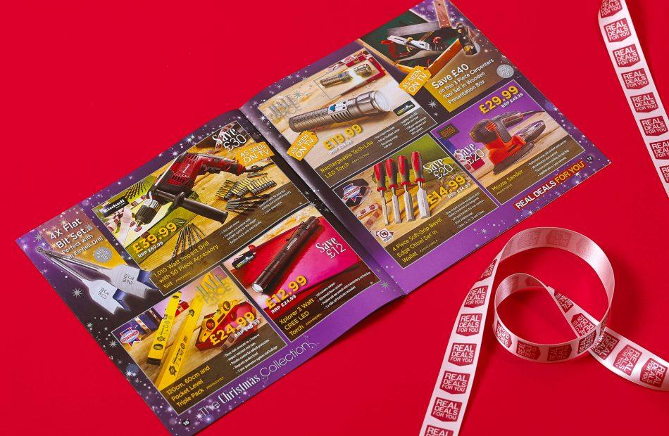Real Deals - open leaflet
