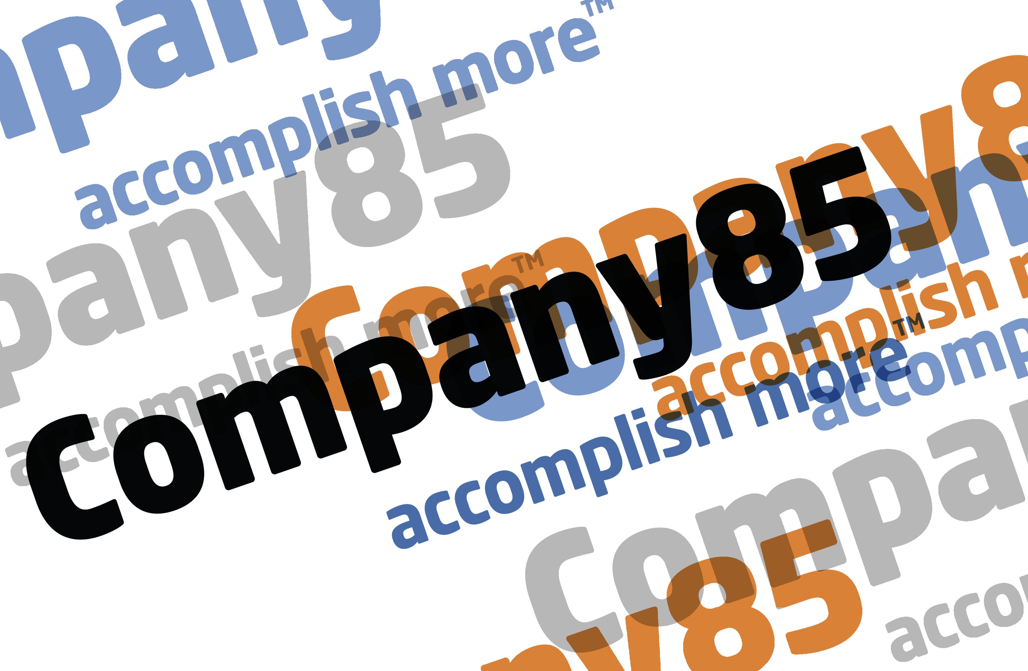 Company85 Conceptual infographic