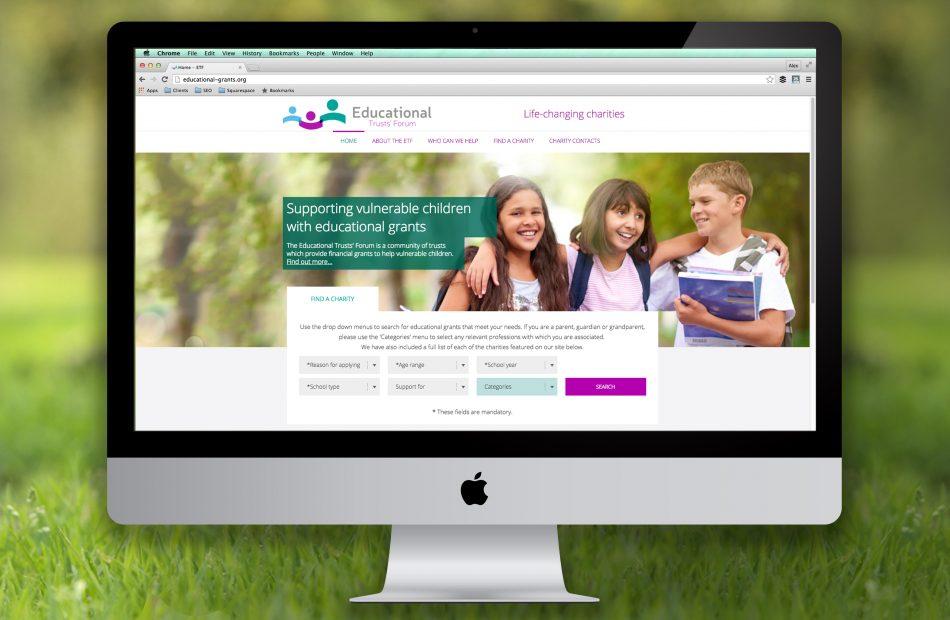 ETF branding and website design