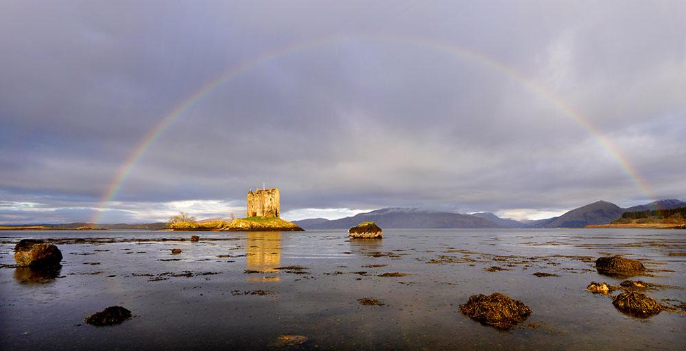 Castle Stalker Rainbow1