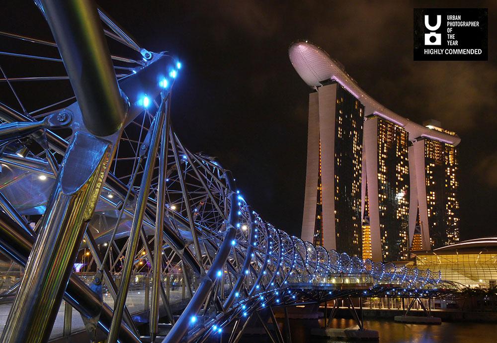 Singapore Helix Bridge1