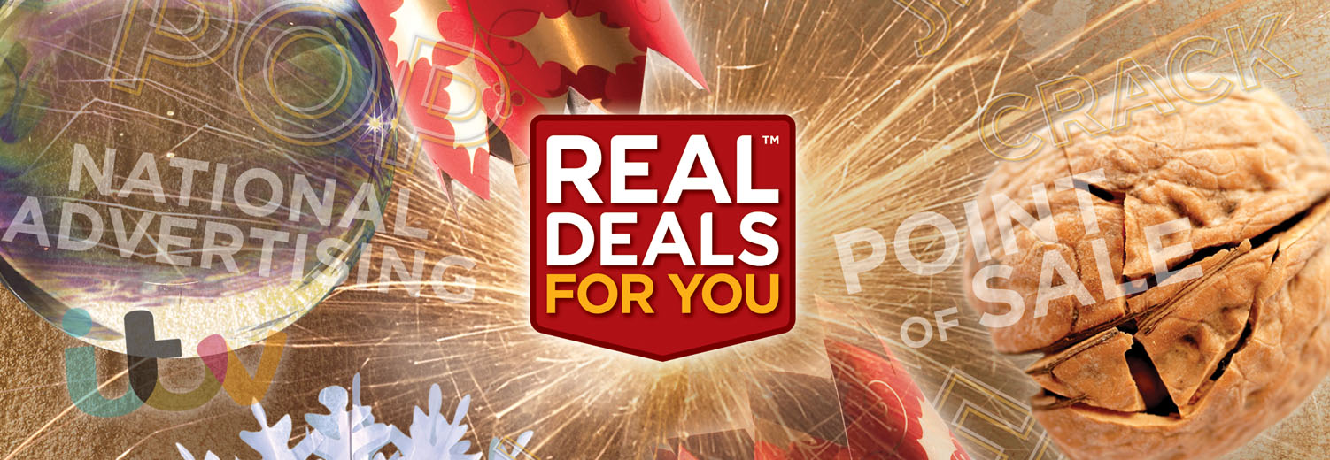 A montage of Toolbank's Real Deals for You Seasonal Promotion concept