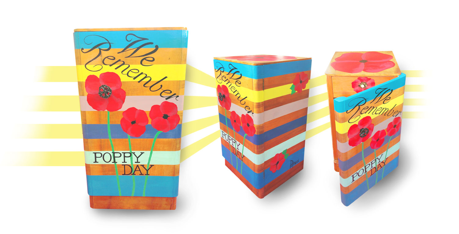 Petrucci Furniture for Poppy Day