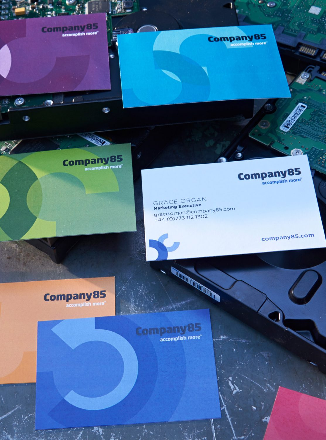 Company85 Business Cards