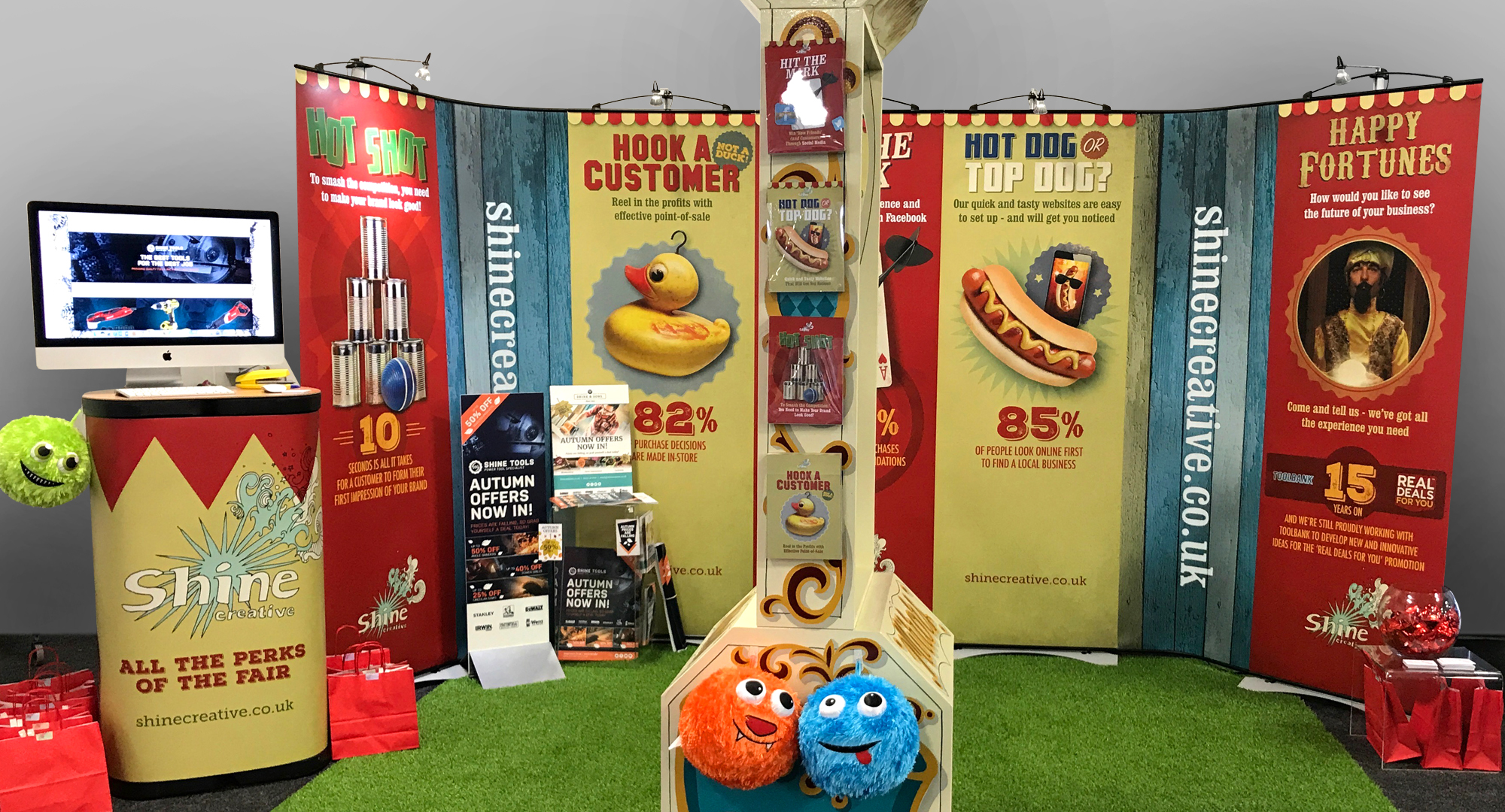 Shine goes on tour – with Toolbank's Autumn Trade Shows!