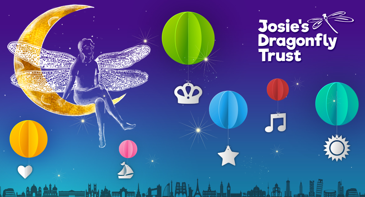 Josie's Dragonfly Trust – our chosen charity for 2018!