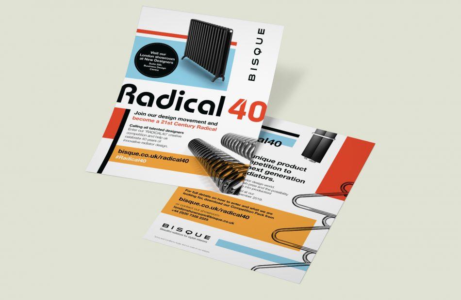 Bisque Radical 40 case study - poster