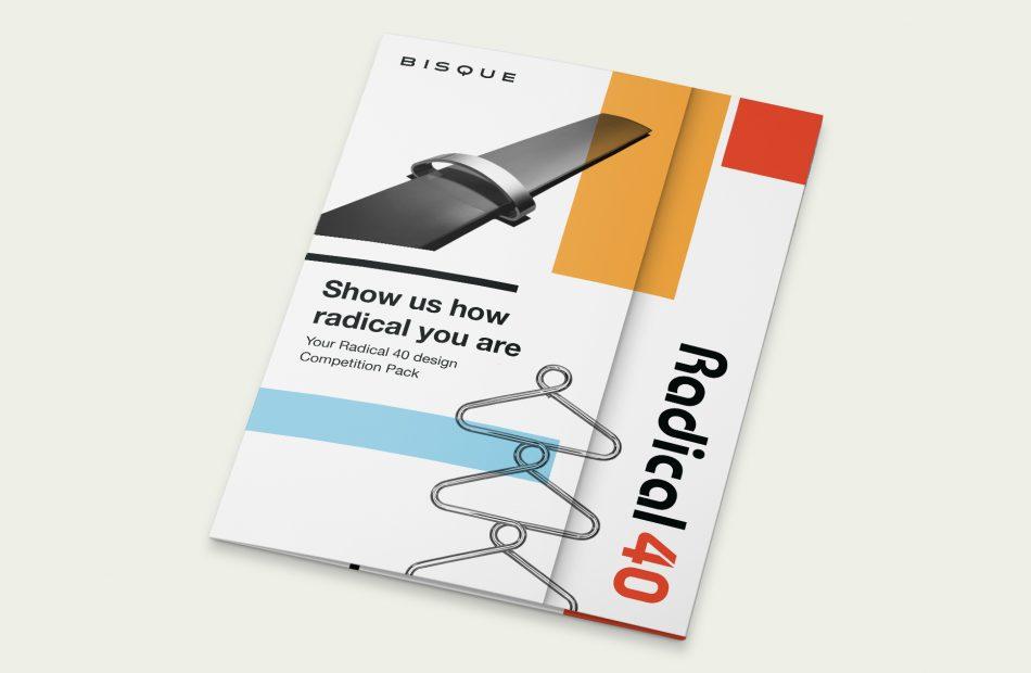 Bisque Radical 40 case study - leaflet