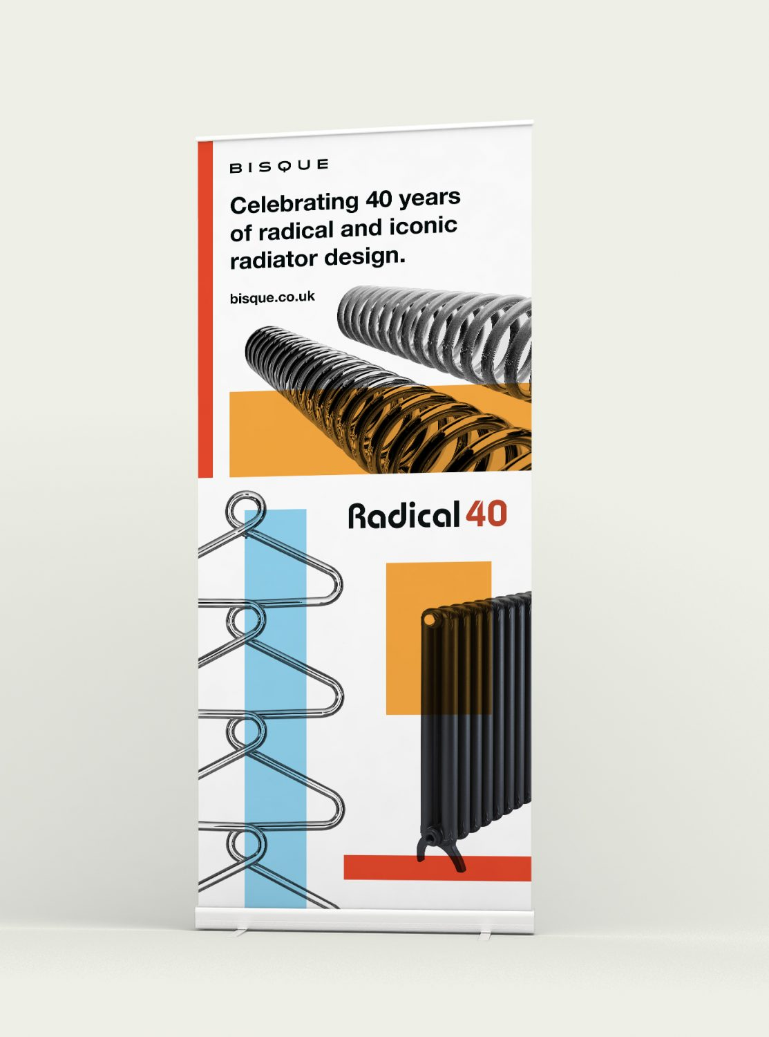 Bisque Radical 40 case study - roll up