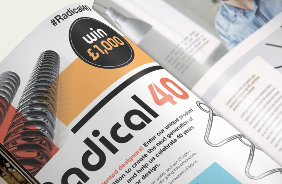 Bisque Radical 40 case study - inside magazine