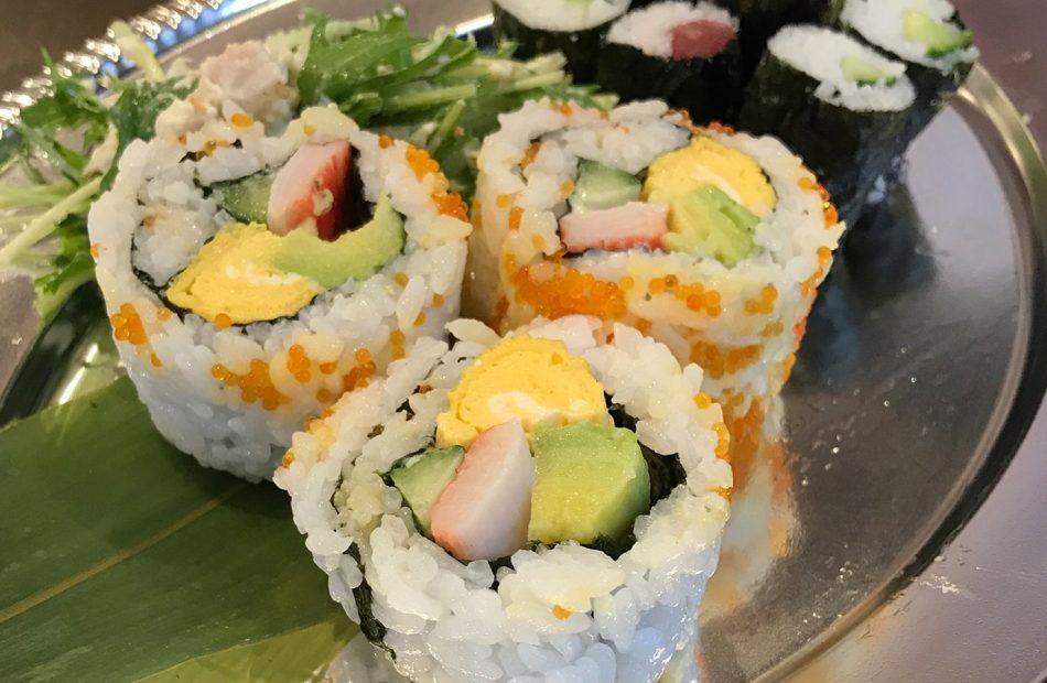 Amy Finn - Copywriter - Sushi roll