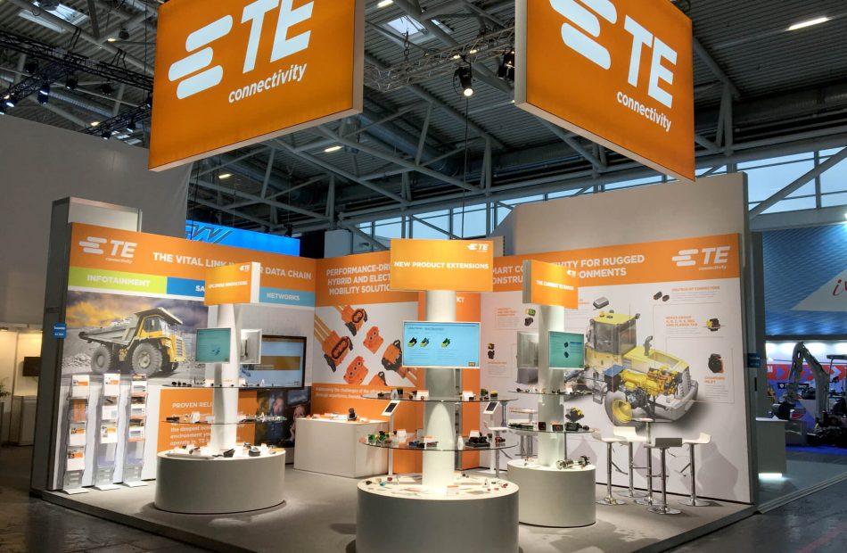 TE Connectivity Case Study - 3D Exhibition Stand