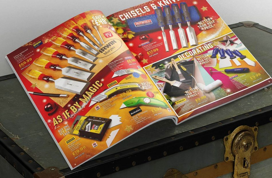 Toolbank seasonal campaign case study - catalogue