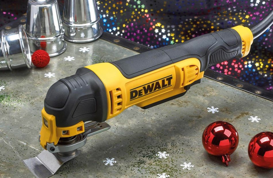 Toolbank seasonal campaign case study - DeWalt Multi Tool catalogue photography
