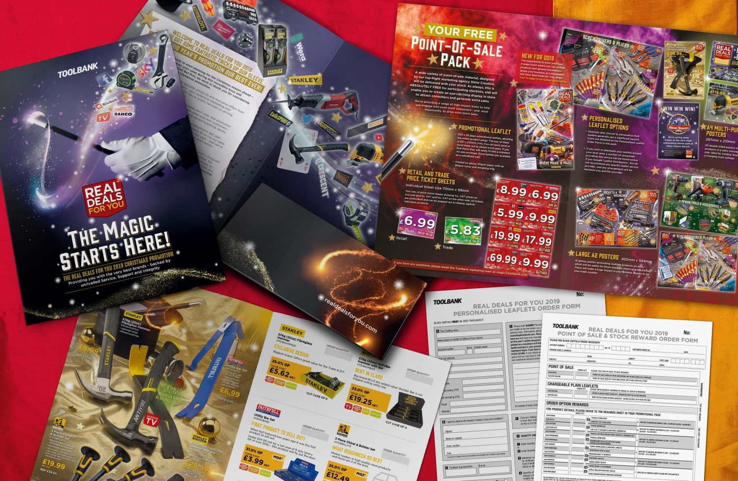 Toolbank seasonal campaign case study - sales pack