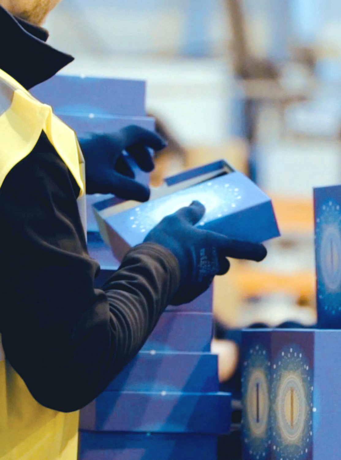 SEKO Logistics case study - Birchbox packing