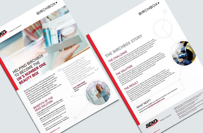 SEKO Birchbox case study - PDF Print case study